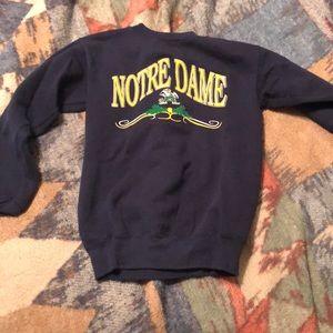 Other - 90's vintage kids Notre Dame sweatshirt